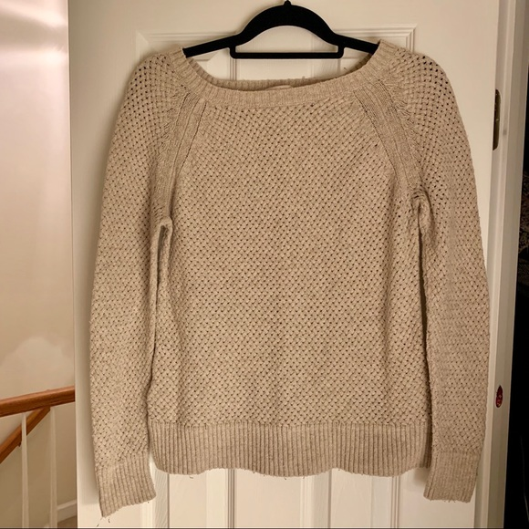 LOFT Sweaters - LOFT oatmeal colored sweater